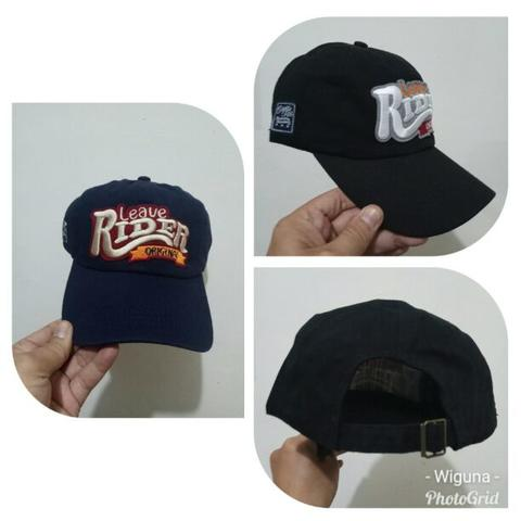 Topi Baseball Bordir Rider Navy Import