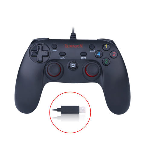 [JoJo CompTech] REDRAGON G807 SATURN USB Wired Gaming Gamepad Controller
