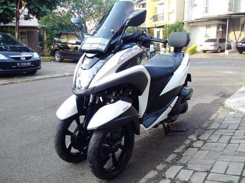 Yamaha Tricity 155 VVA 2018/2017 Full Original Like New Pajak Hidup Good Condition