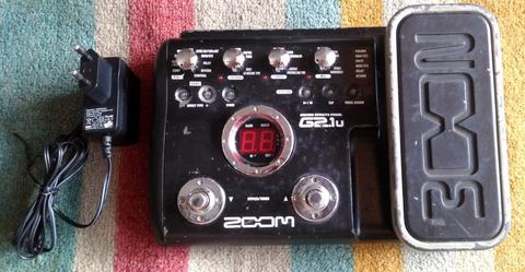 Guitar Multiple Effect ZOOM G2.1u...