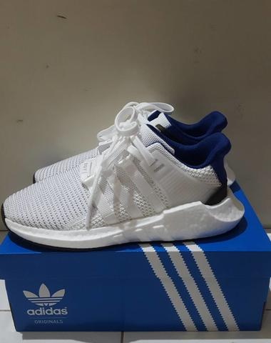 ADIDAS EQT SUPPORT 93/17 BOOST WHITE ROYAL BLUE