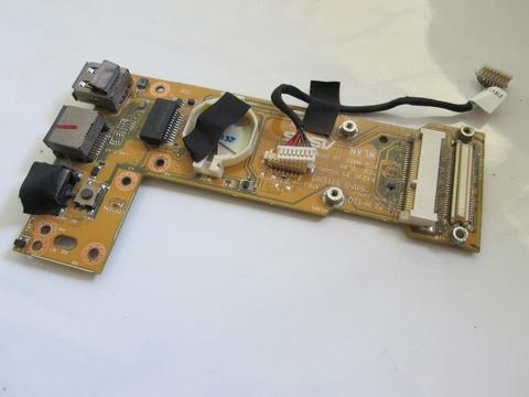 Asus A42J DC-IN Ethernet USB Port Board