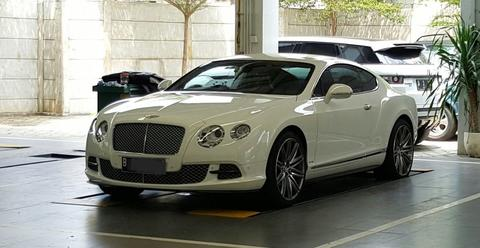 Bentley Continental w 12 Thn 2013 Km hampir 10rb Brembo brake