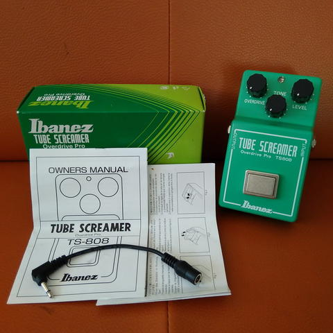 Ibanez Tube Screamer TS808 Made in Japan LIKE NEW!