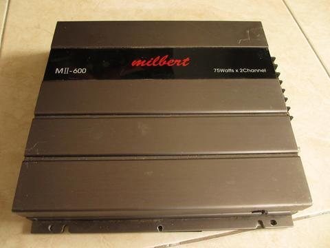 Jual Power Amplifier Milbert MII-600 Tube (Tabung) 2ch