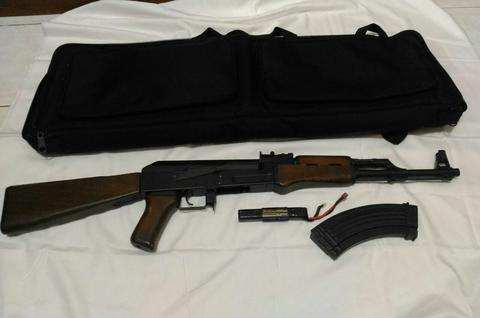 KING ARMS AK47 AEG WOOD