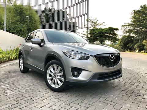 Mazda CX5 2013 Grey Bose Heather Tangan Pertama
