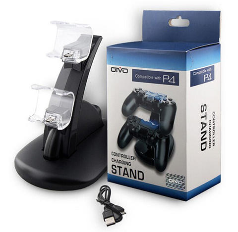 OIVO Gamepad Double Charging Dock Stand For PS4 Controller