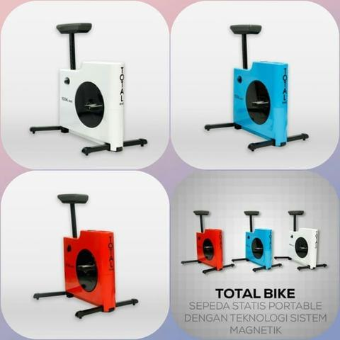 Sepeda Fitnes Statis Total Bike Nano Advance Bike