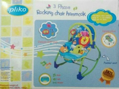 Pliko Baby Bouncer Rocking Chair Hammock