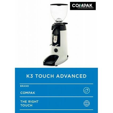 Grinder Coffee Compak K3 Touch