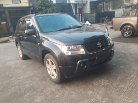 Suzuki new Grand Vitara JLX M/t th 2008 hitam ori tgn 1 antik