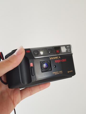 Yashica Ninja Star II Point n Shoot Camera