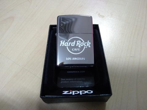 Zippo Original HARD ROCK CAFE LOS ANGELES