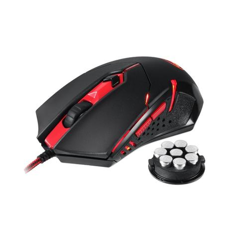 [JoJo CompTech] REDRAGON M601 CENTROPHORUS Red LED Ergonomic Gaming Mouse