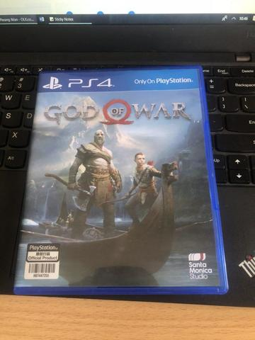 BD PS4 God of War Mulus (Dlc Used)