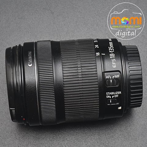 CANON EF-S 18-135mm/3.5-5.6 IS STM (code #4344)