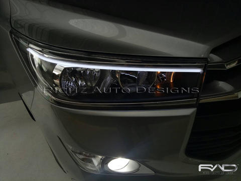 Custom Headlamp Drl Audiline innova thn 2017