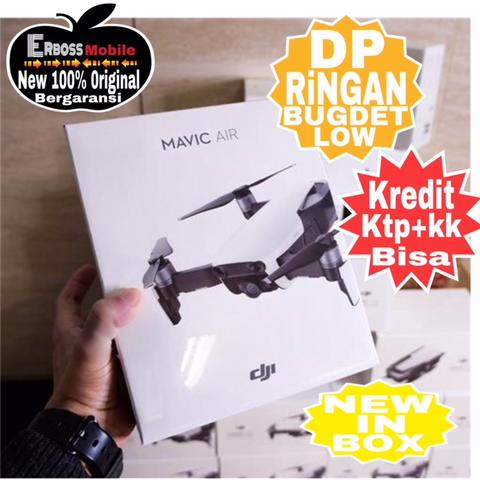 DJI Mavic Air Single Drone DJI Resmi TAM-Cash/Kredit Dp 1jt Ditoko Wa;081905288895