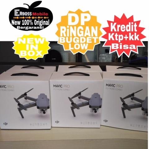 DJI Mavic Pro Fly More Combo New Resmi TAM-Cash/kredit Dp Call/Wa;081905288895