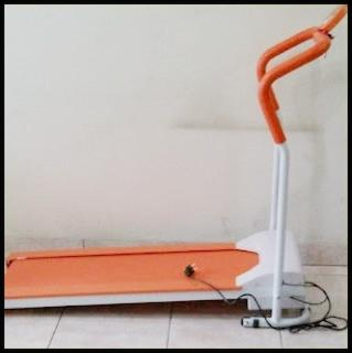 Excider Walking Treadmill Elektric Alat Olahraga Lari Dirumah