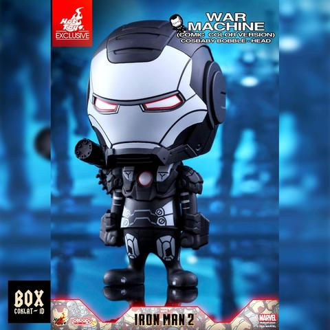 HOT TOYS ORIGINAL COSBABY WARMACHINE WAR MACHINE MARK I COMIC COLOR