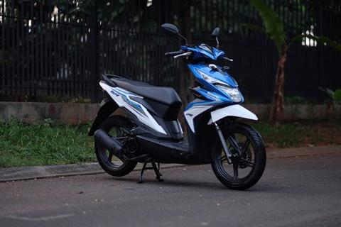 Jual Honda New Beat CBS ESP ISS 2017 95% Like New!