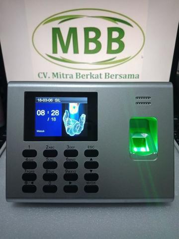 Mesin Absensi Sidik Jari MBB 300 Internal battery TERBAIK