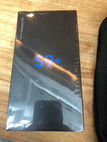 Samsung s9 Plus 64 GB warna Hitam