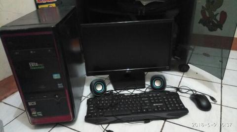 Komputer Gaming i5 2500 3.7ghz RAM 6gb 1 SET SIAP PAKAI
