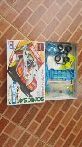 Tamiya Sonic Saber Casis super 1 light blue
