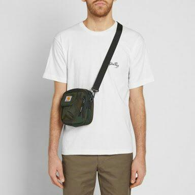 carhatt wip essential bag camo green hunter not supreme , places faces , stussy,obey
