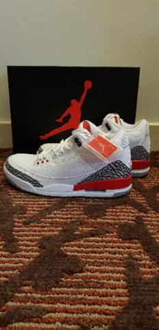 Air Jordan 3 Retro Katrina Original Baru BNIB