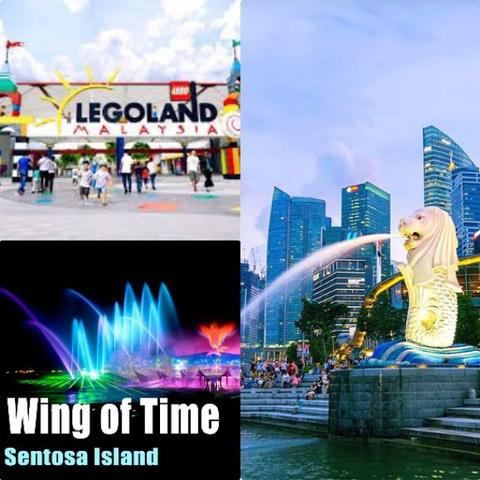 4D3N Singapore with Legoland & Wings of Time