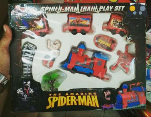 kereta mainan the amazing spiderman