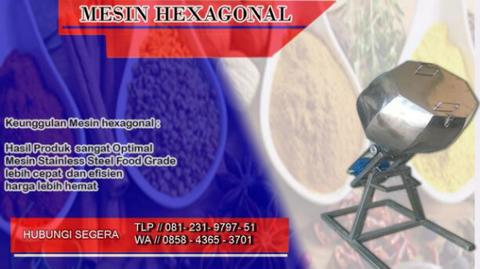 mesin hexagonal