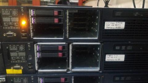 Server Hp Proliant DL 380 G7