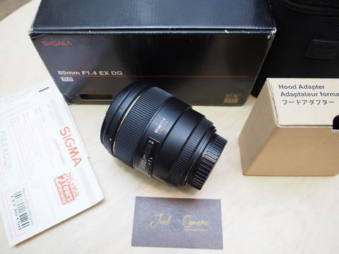 [JOEL] SIGMA 85mm f1.4 EX DG OS for CANON, murah @STCsenayan