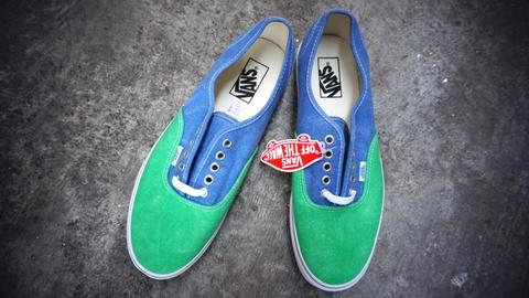 Vans Authentic Washed 2 Tone