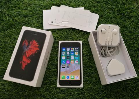Iphone 6S 128GB Space Gray Fullset Mulus Perfect Kaya Baru Murah Saja
