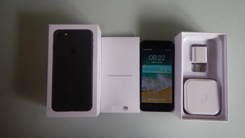 JUAL IPHONE 7 128GB BLACKMATTE SECOND BERKUALITAS - GARANSI STORE