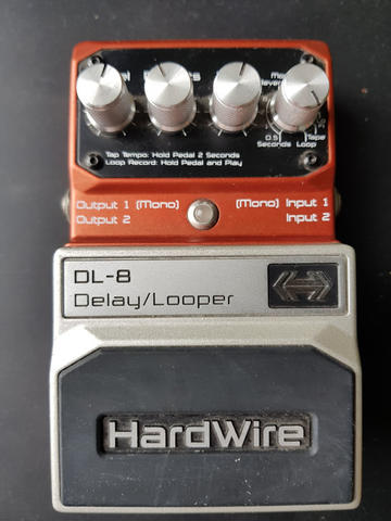 Pedal Digitech DL-8 Delay / Looper Guitar Effect Digital Stompbox Efek Gitar DL8 Tap
