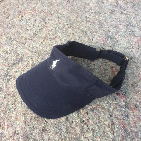 POLO RAPLH LAUREN GOLF VISOR NAVY