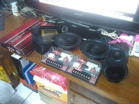 Speaker Crescendo Opus 1 3 way + Power Amplifier Orion 225HCA (bandung)