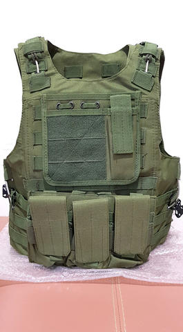 Tactical Vest -- MURAHH GANN.