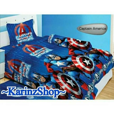 Sprei Lady Rose 120 120x200 Captain America