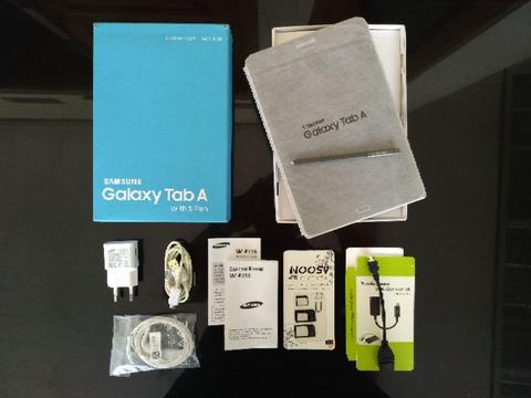 Tablet SAMSUNG Galaxy Tab A 8 inch With S Pen Type SM P355 Kartu 4G