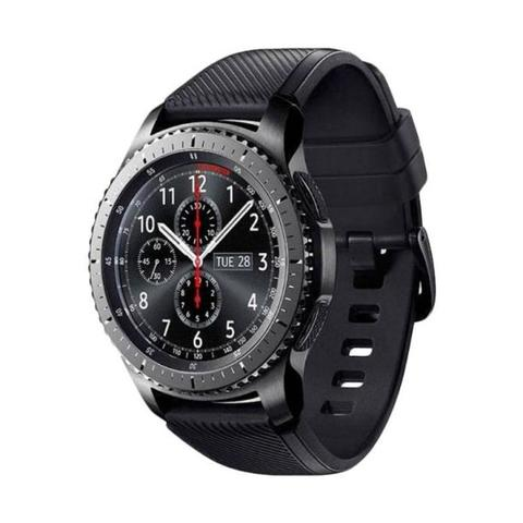 Samsung Gear S3 Frontier with Black Sport Band Smartwacth