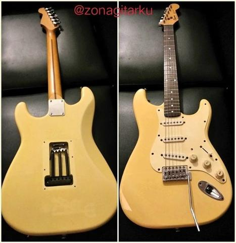 Squier stratocaster made in korea tahun 94