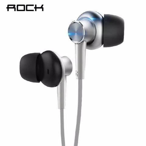 ROCK Y2 Stereo Earphone with Microphone Headset Sports Headphone